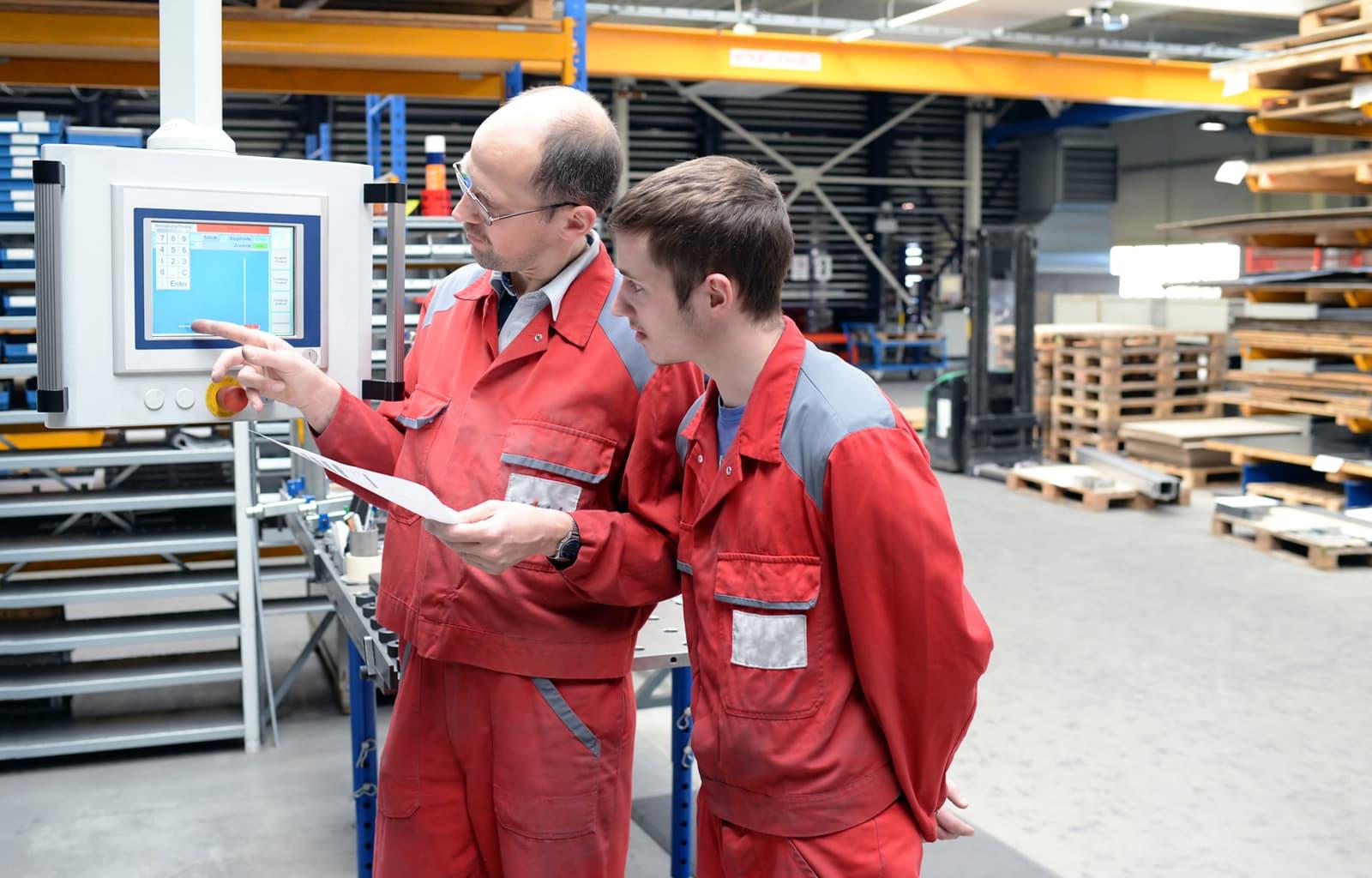 Industriemeister bei der Azubi Ausbildung